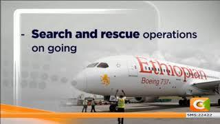 157 people feared dead after plane crashes in Ethiopia