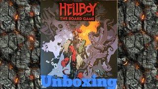 Hellboy The Board Game Unboxing
