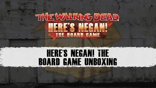 Here's Negan: The Board Game Unboxing