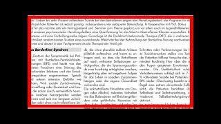 MÖGLICHE SYMPTOME FÜR EINE BORDERLINE-PERSÖNLICHKEITSSTÖRUNG