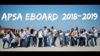 APSA's Executive Board 2018-2019 Intro Video