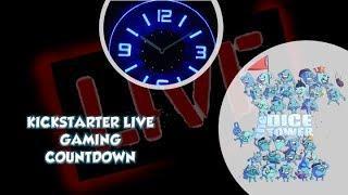 Live Gaming Kickstarter Countdown