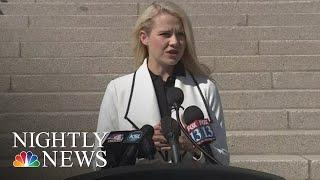 Elizabeth Smart: After Learning One Of Her Captors Will Be Released From Prison | NBC Nightly News