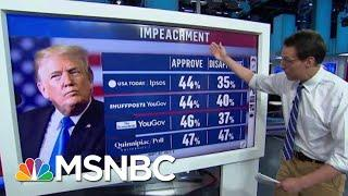 Support For President Donald Trump's Impeachment Higher Than Nixon, Clinton | Hardball | MSNBC