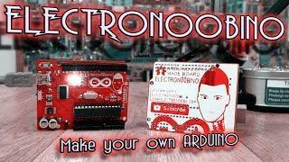 Electronoobino board | How to make your Arduino UNO