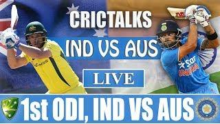 Live: IND Vs AUS 1st ODI | Live Scores and Commentary | 2019 Series