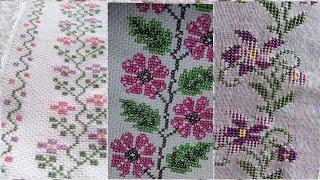 New Dosuti patterns// Cross Stitch For table covers And borderline