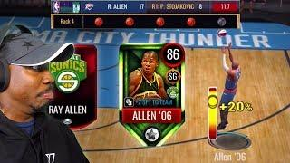 Monthly Master RAY ALLEN In 3PT CONTEST! NBA Live Mobile 20 Season 4 Gameplay Ep. 11