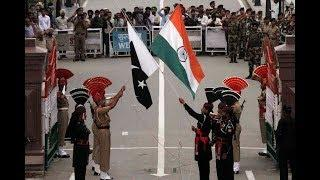 15 August 2018 - WAGAH BORDER RETREAT PARADE : FULL CEREMONY !! INDIA PAKISTAN