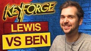 KeyForge: Match #1 - Lewis vs Ben