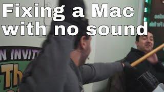 A1708 Macbook Pro has no audio: repair of logic board