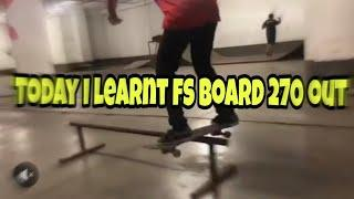 LEARNING FRONT BOARD 270 OUT | Process video