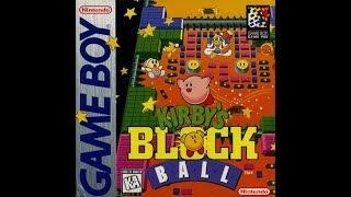 Kirby's Block Ball Game Boy music REMASTERED - Border Line Cleared