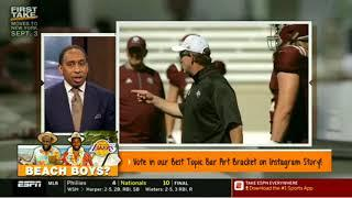 Ohio State Board of Trustees soon to announce Urban Meyer decision | FIRST TAKE 8/22/2018