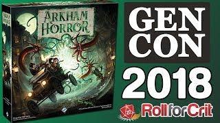 Arkham Horror 3rd Edition Impressions | Gen Con 2018