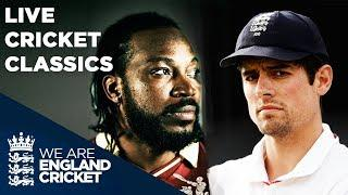 LIVE TEST CLASSICS | England v West Indies | Old Trafford 2007