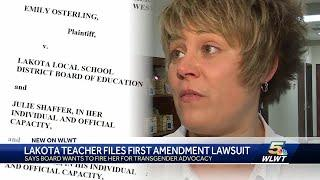 Lawsuit says school board fired teacher for trangender advocacy