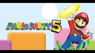 Mario Party 5 Live Stream 50 Turn Board Playthrough Part 6 (RISKING THE SAVE FILE AND DONT EFF UP)