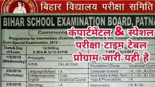 Bihar Board Inter 12th  Compartmental Program 2019/BSEB 12th Compartmental Program 2019 - Samrat sir