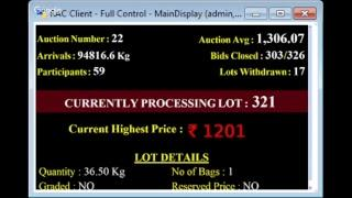 SPICES BOARD E-AUCTION PUTTADY 19.12.2018 HEADER LIVE