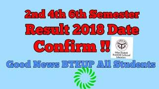 BTEUP Board Results 2018 2nd 4th 6th semester Date Confirm Good News All polytechnic Students