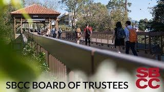 SBCC Board of Trustees 1/24/2019