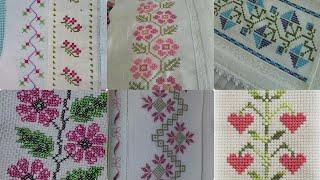 Very Simple And Beautiful Cross Stitch Borderline Pettrans
