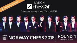 Round 4 - 2018 Altibox Norway Chess