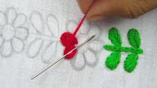 Hand Embroidery, Beautiful Border Line Design, Nakshi katha border design