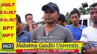 "Ri Bhoi News""Pynpra ka KSU ia ka Sign Board ba Pynieng ka Sorkar Assam"""